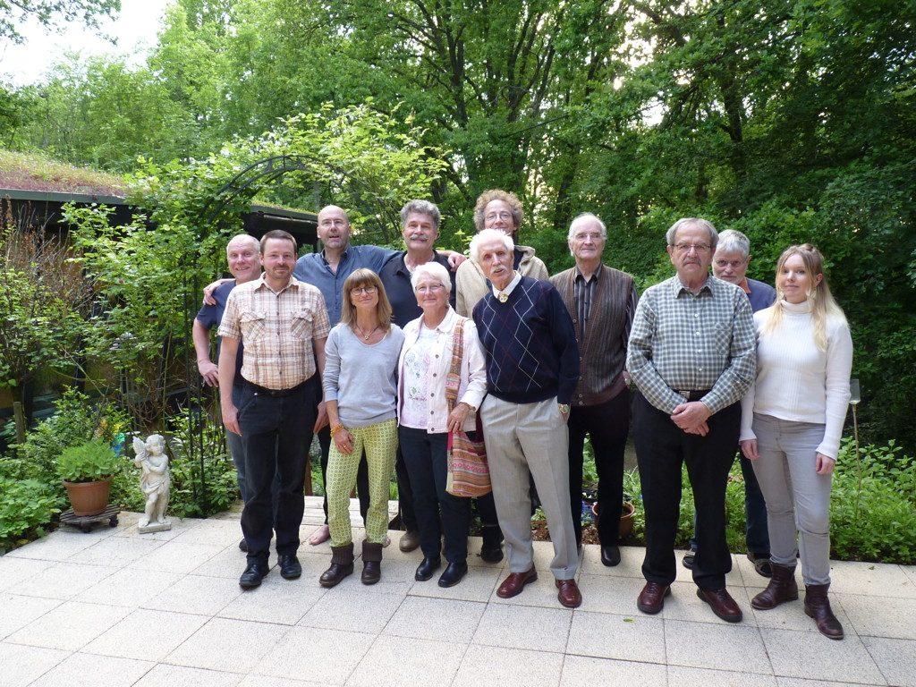 Teilnehmende des Seminars W&G ohne Dieter Müller 25.5.2019